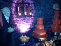 Chocolate Fountain Rental for Wedding Receptions, Proms, Haloween, Birthdays, & Catering Events in Tampa and Orlando